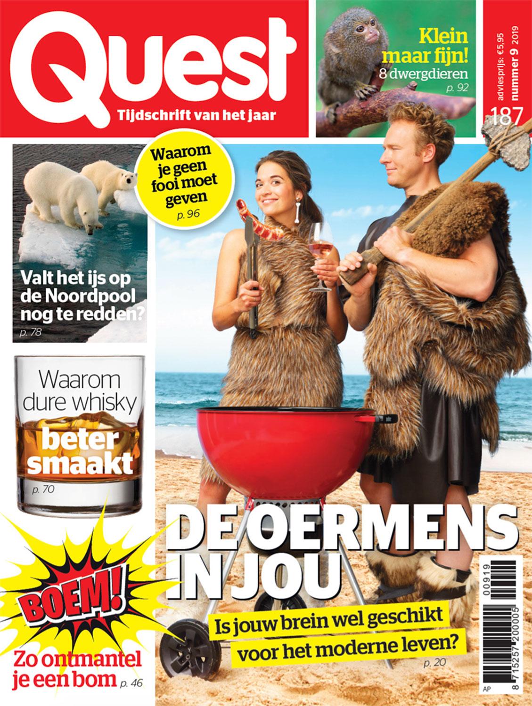Tijdschrift Quest in opdracht van mediabedrijf Hearst Netherlands