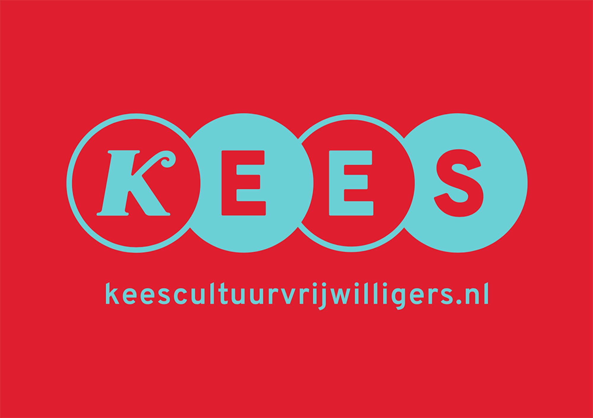 Wervingsposters KEES in opdracht van cultuurvrijwilligersorganisatie KEES