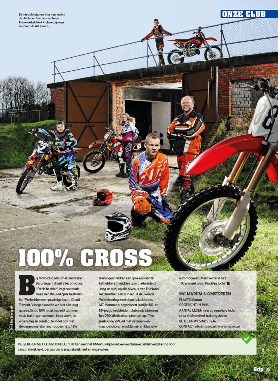 Magazine Grip in opdracht van motorrijdersvereniging KNMV