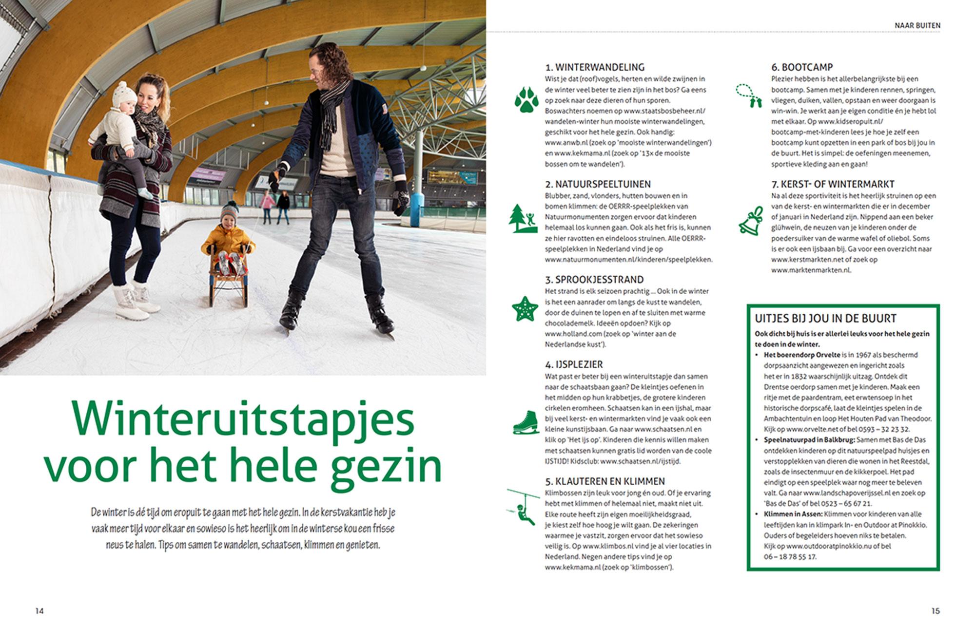 Ledenmagazine Icare in opdracht van zorgorganisatie Espria