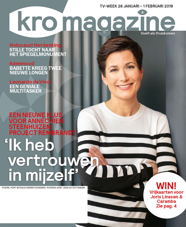 Televisiegids KRO-magazine in opdracht van mediabedrijf Bindinc.