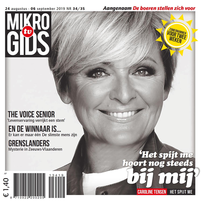 Televisiegids Mikrogids in opdracht van mediabedrijf Bindinc.