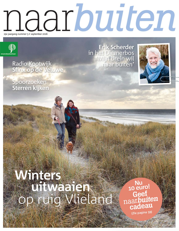 Magazine NaarBuiten in opdracht van natuurorganisatie Staatsbosbeheer