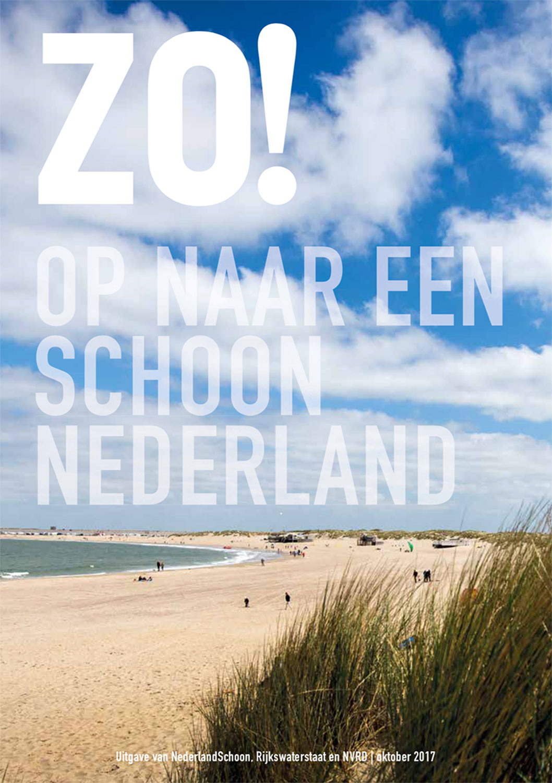 Magazine Zo! in opdracht van zwerfafvalbestrijder Nederland Schoon