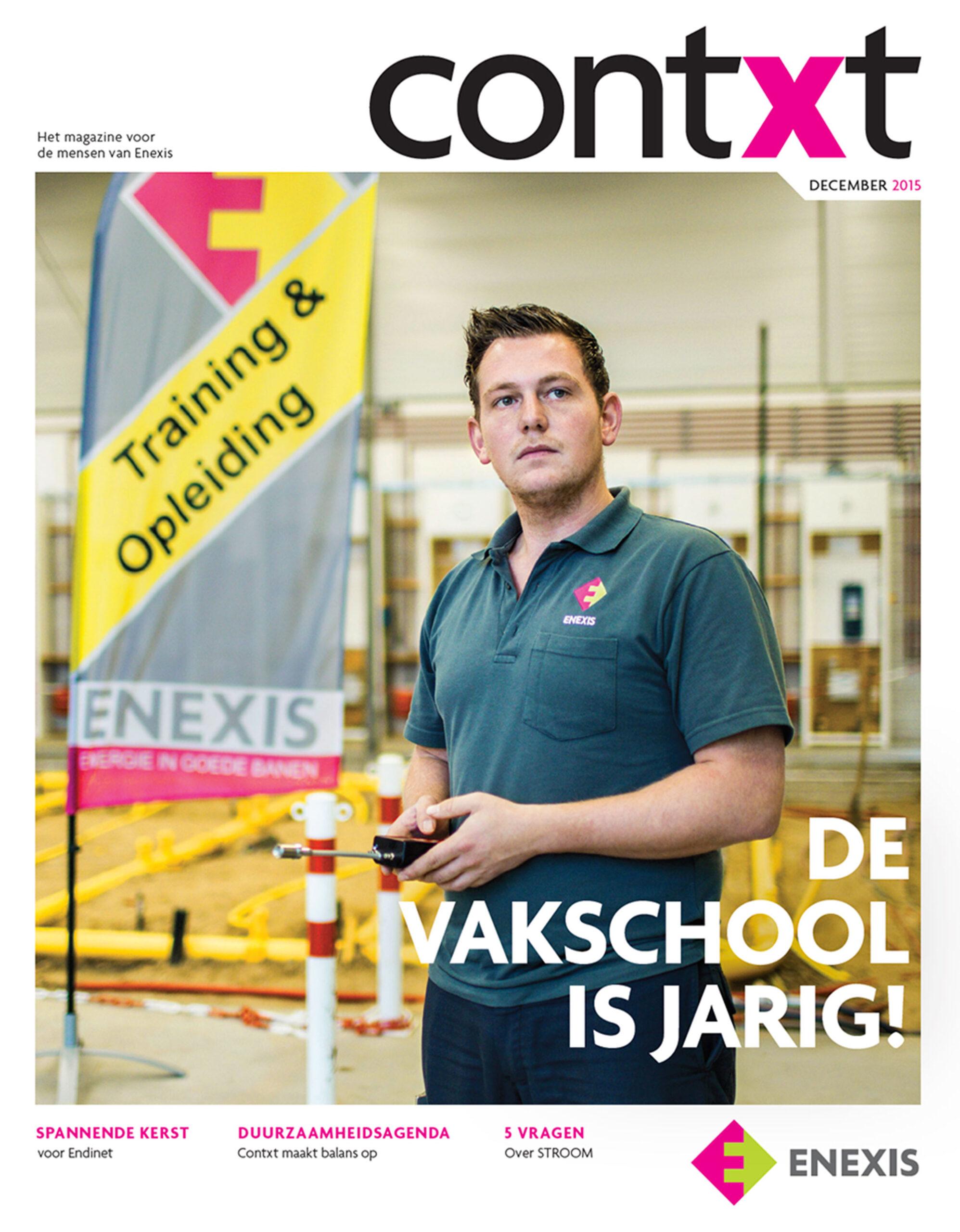 Magazine Contxt in opdracht van netbeheerder Enexis