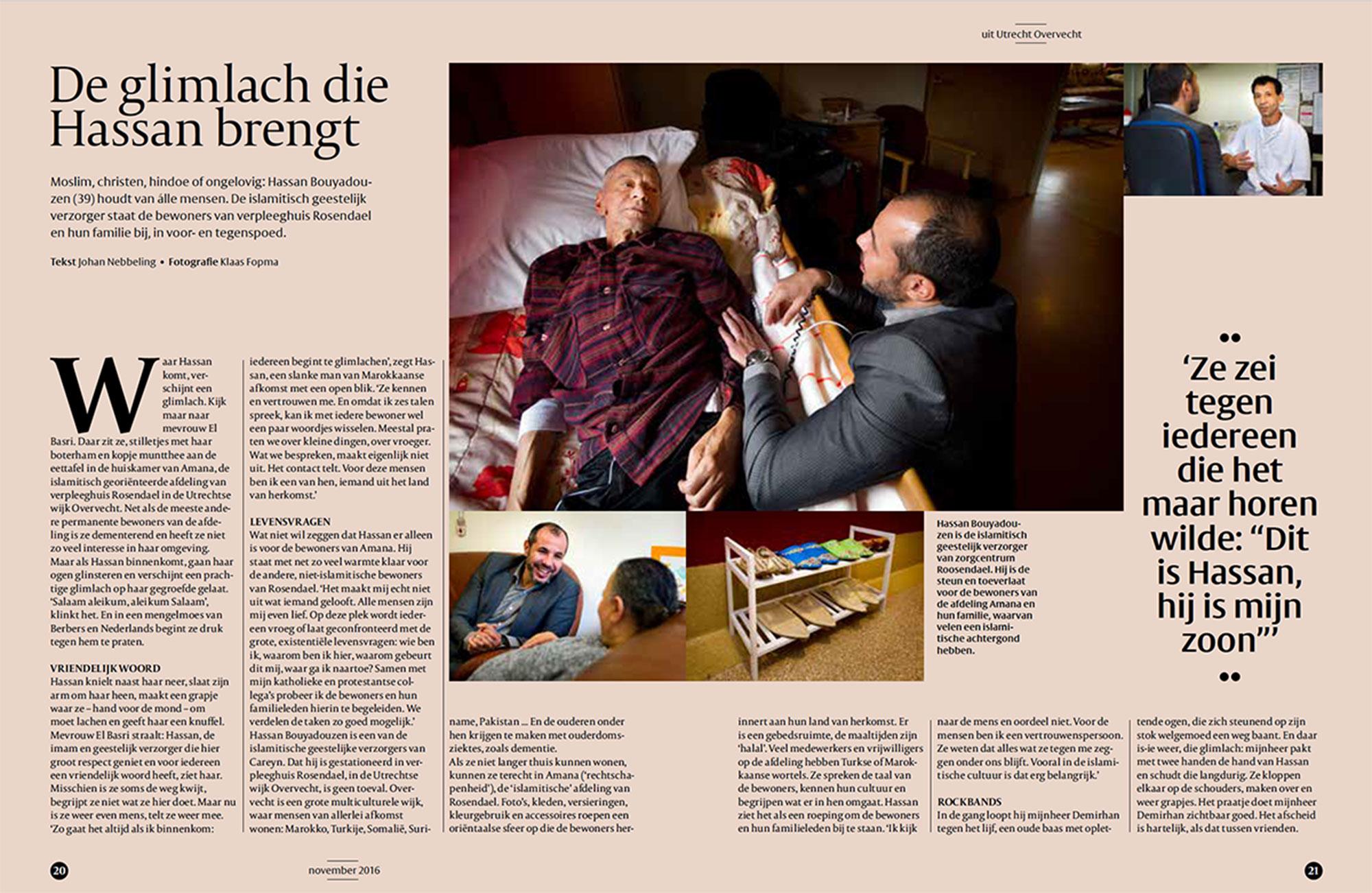 Magazine De Kunst van Leven in opdracht van zorgorganisatie Careyn