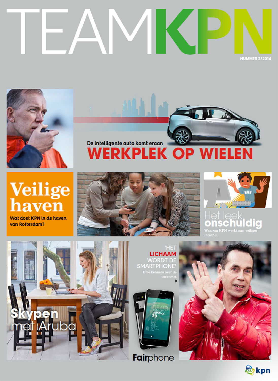 Magazine Team KPN in opdracht van telecombedrijf KPN
