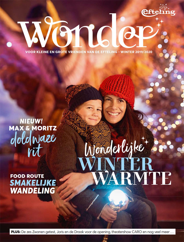 Magazine Wonder in opdracht van pretpark de Efteling